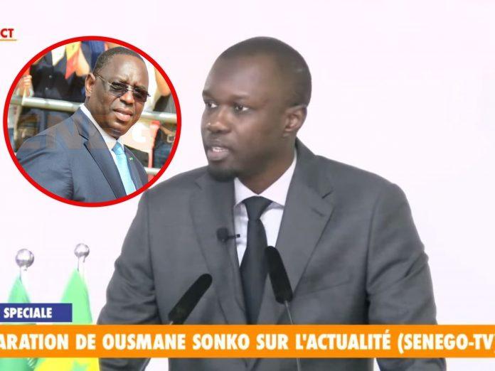 "Ousmane Sonko : ""Kilifeu Diiné Yi, Dagn Lén Di essayé manipuler rekk..""ParBirama THIOR 02/07/2021 à 18:24"